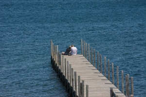 Young Love at Weir Beach