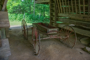 An old wagon