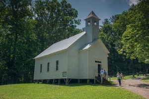 Primitive Baptist Church settled by some of the earliest settlers in 1827