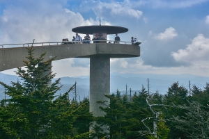 The tower at Clingmans Dome