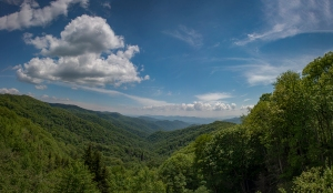 Newfound Gap in the Great Smokey Mountains