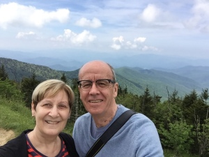 Si and Sand at Clingmans Dome