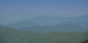 Smoky Mountains from Clingmans Dome