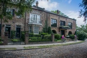 Historic homes in Charleston