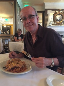 Si with his soft shell crabs
