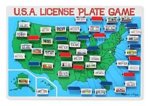 The Licence Plate Game
